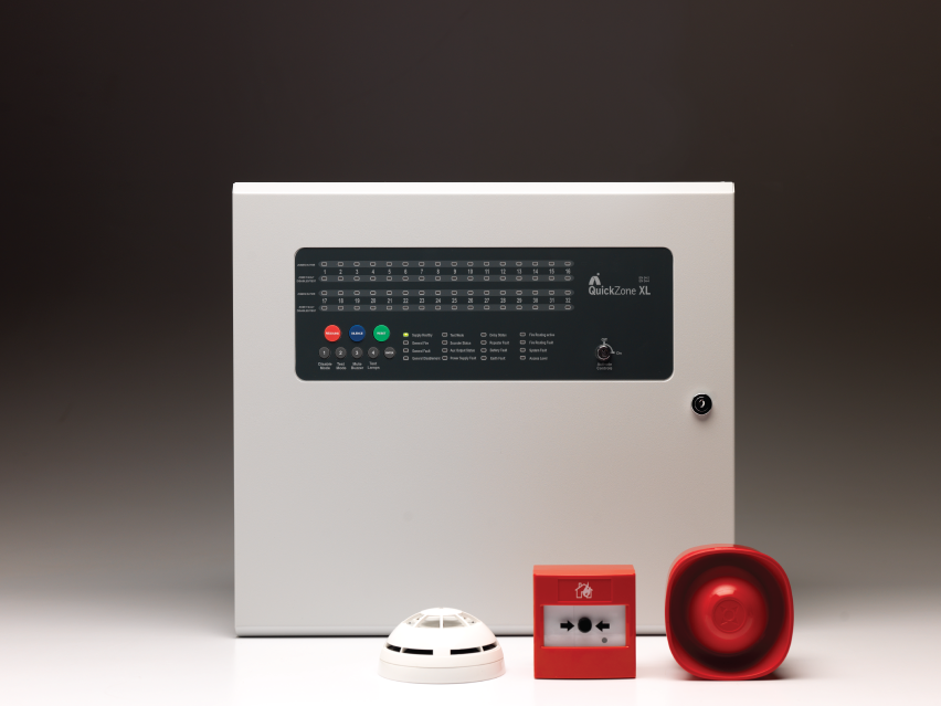 QuickZone XL 16-32 Zone Conventional Fire Panel
