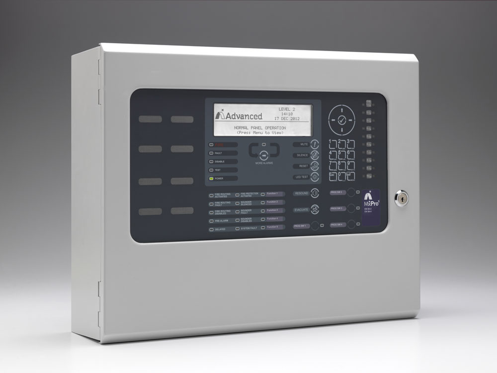 MxPro 5 - Two Loop Fire Alarm Control Panel