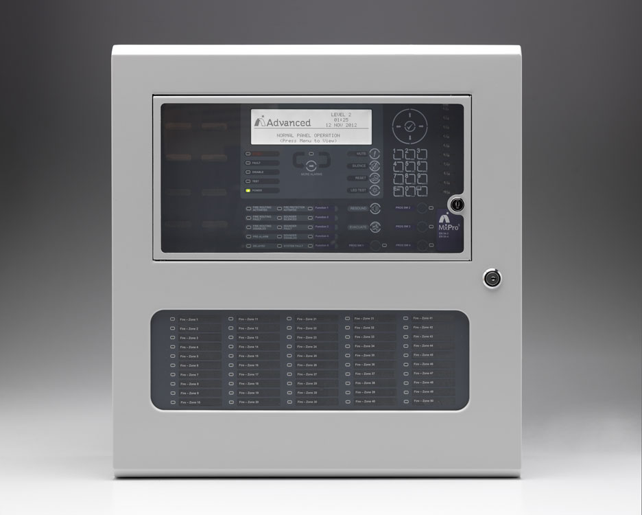 Mxpro 5 Four Loop Multiprotocol Fire Alarm Control Panel